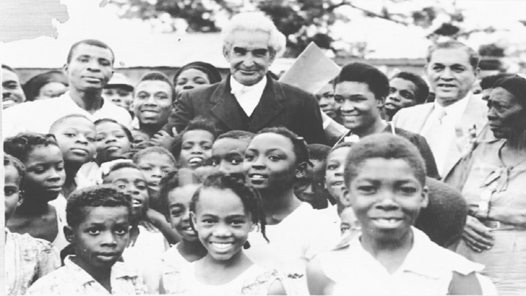 The Bustamante Industrial Trade Union, formed under the patronage of Sir Alexander Bustamante (pictured with children) in 1938, was among the two major trade unions which celebrated Labour Day between 1960 and 1970 in the form of public rally meetings and marches.